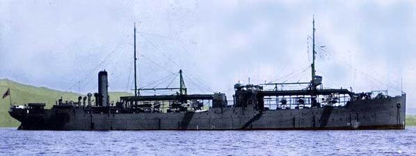 水上機母艦能登呂-軍艦画像DBP
